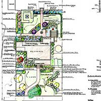 sample of a landscape design plan