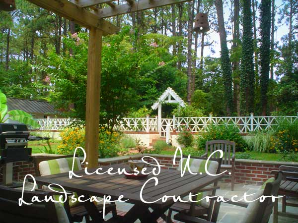 licensed north carolina landscape contractor