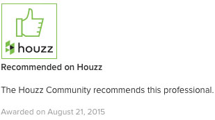 recommended on houzz.com